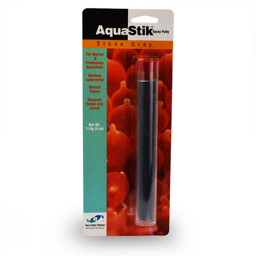 748172440629 Two Little Fishies Julian Sprung Aquastik aqua stick stik Stone grey gray epoxy putty 4 oz 4oz 4 ounces