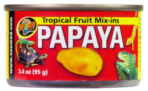 Zoo Med Tropical Fruit Mix-ins, Papaya 3.4 oz