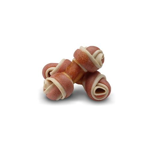 Zeus Better Bones Salmon & Chicken Wrapped Mini Bones 12 Pack