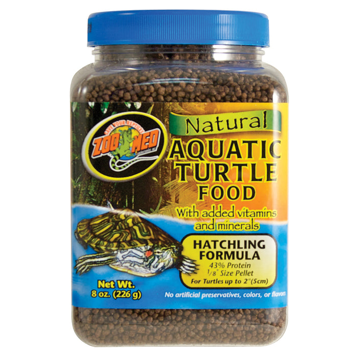 Zoo Med Aquatic Turtle Hatchling Food 8.0 oz