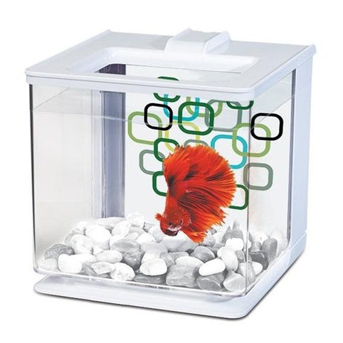 Marina Betta EZ Care Aquarium Kit White