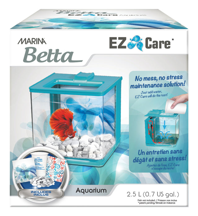 Marina Betta EZ Care Aquarium Kit Blue