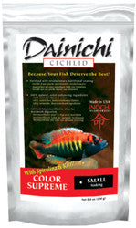 Dainichi Cichlid Color Supreme Small 8.8oz Sinking Pellet