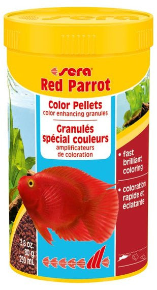 Sera Red Parrot Color Pellets 2.8oz