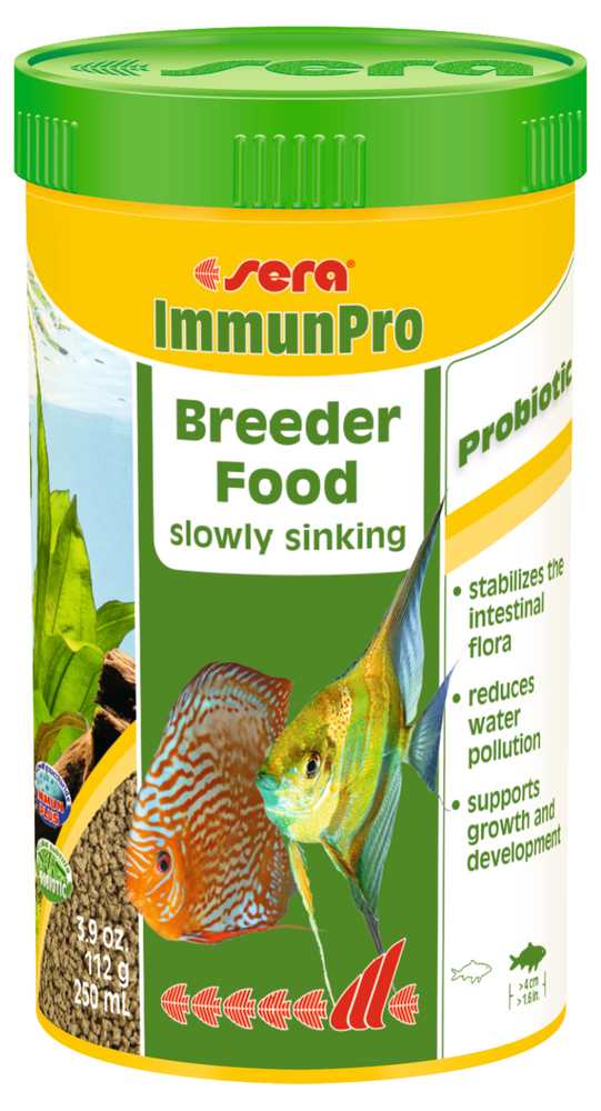 Sera ImmunoPro Breeder Food for Fish Larger than 1.6 inches  3.9 oz