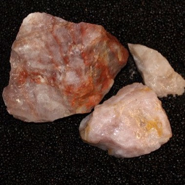 Bulk Rock Rose Quartz per Ounce