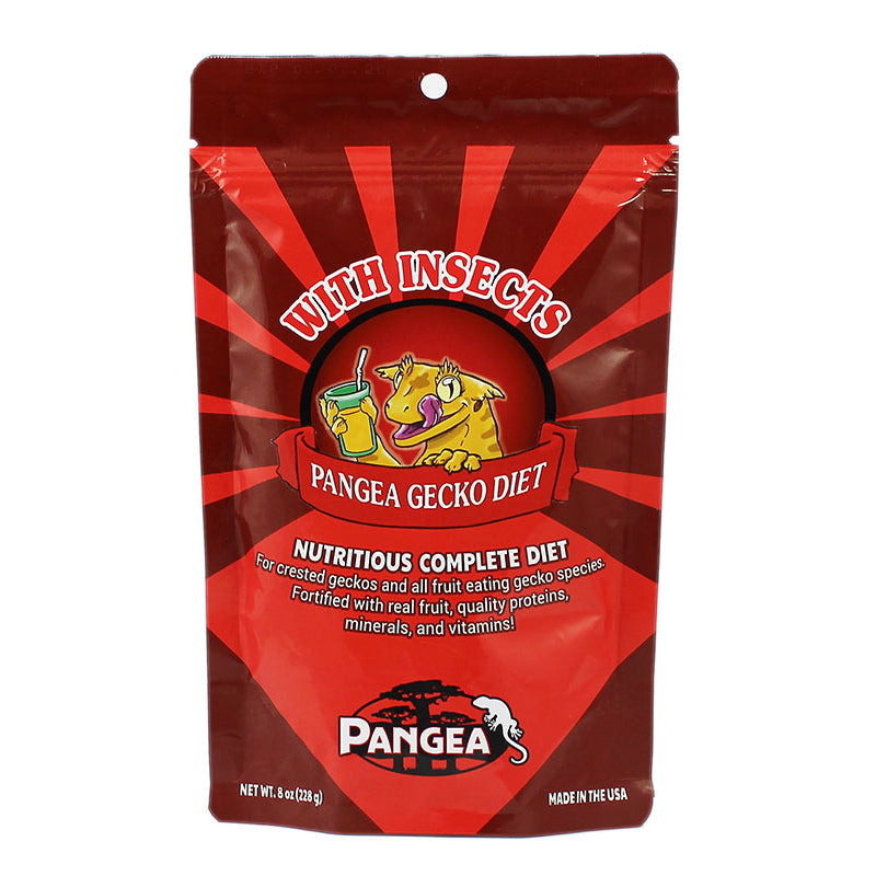 WPFMCR-2 Pangea Crested gecko diet with insects bugs 854732004382