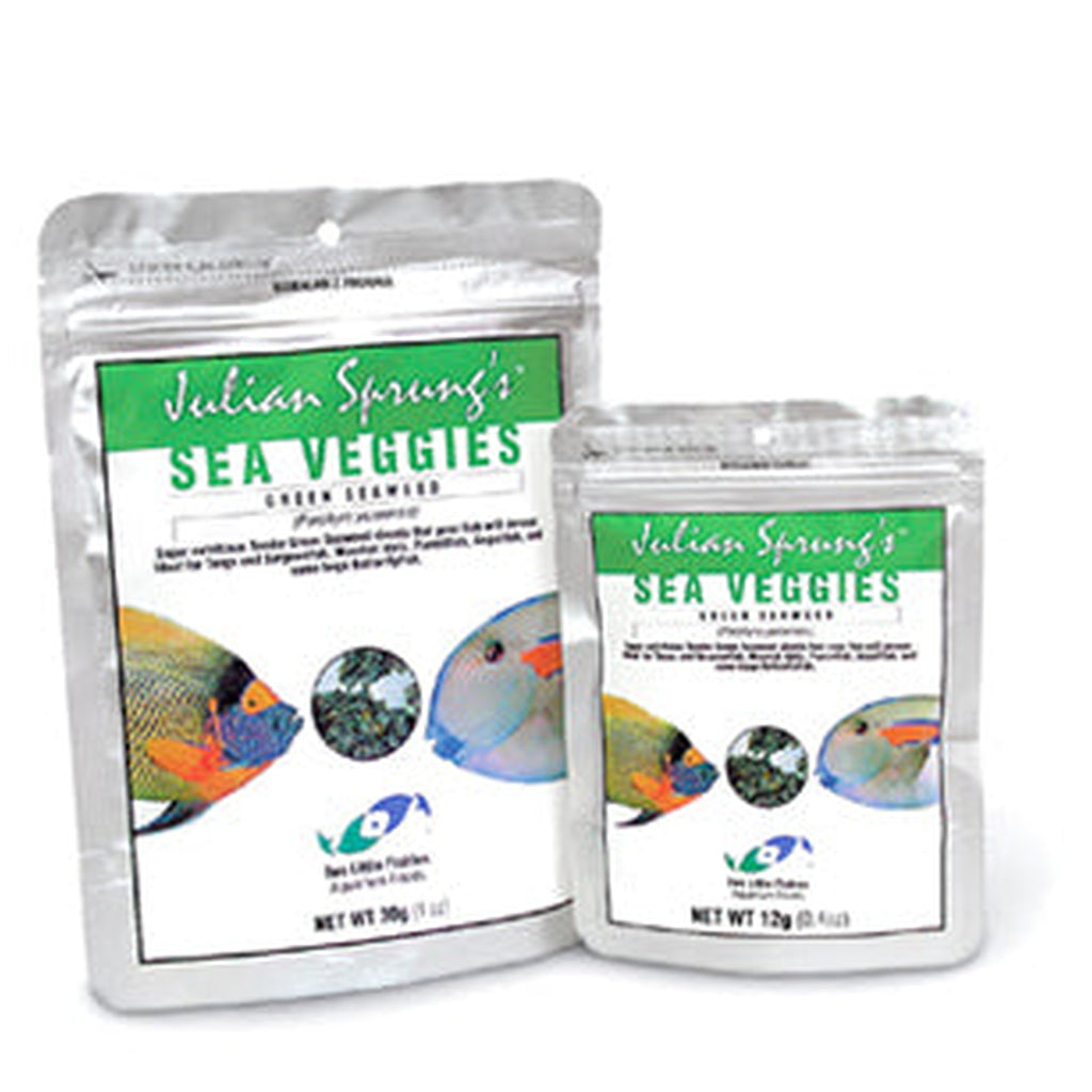 Two Little Fishies SeaVeggies®	 Green Seaweed 30g - Sustainable Marine Canada - Reef Aquarium Supplies Plus+