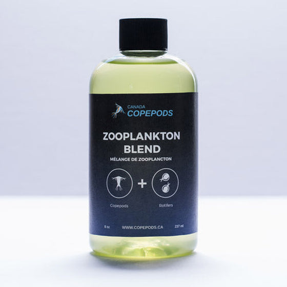 Canada Copepods  Phytoplankton Blend (8 oz Medium Concentration) - Sustainable Marine Canada - Reef Aquarium Supplies Plus+