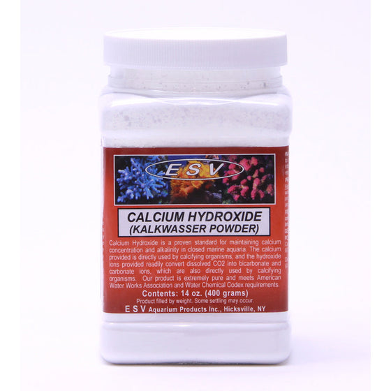 ESV Calcium Hydroxide (Kalkwasser Powder) - Sustainable Marine Canada - Reef Aquarium Supplies Plus+