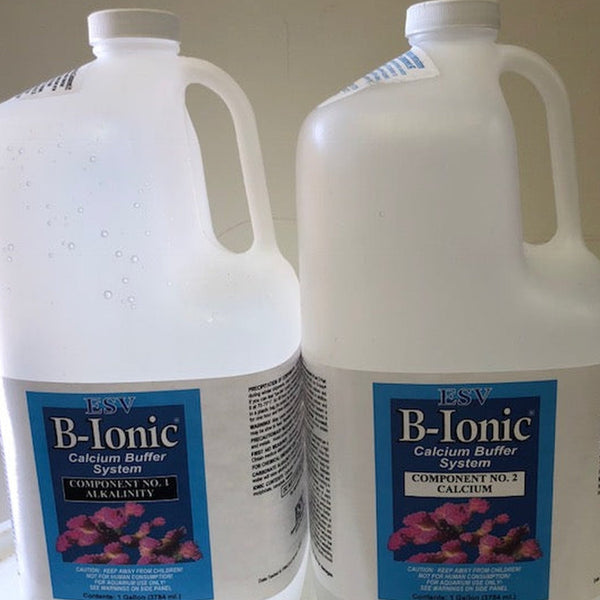 ESV B-IONIC CALCIUM BUFFER 2-PART SYSTEM (2 X 1 GALLON) - Sustainable Marine Canada - Reef Aquarium Supplies Plus+