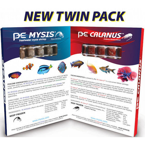 PE Mysis & Calanus Twin Pack - Sustainable Marine Canada - Reef Aquarium Supplies Plus+