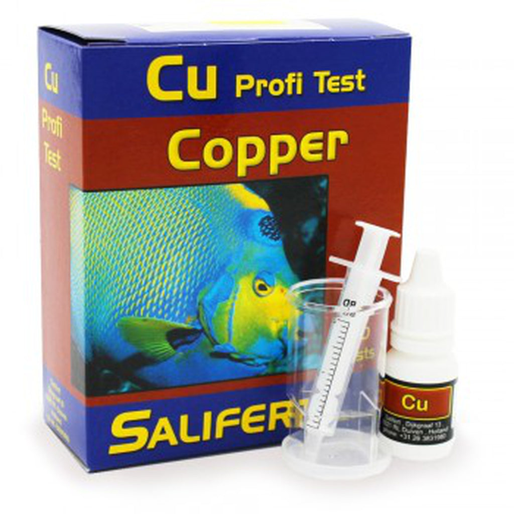 Salifert Copper Test kit - Sustainable Marine Canada - Reef Aquarium Supplies Plus+
