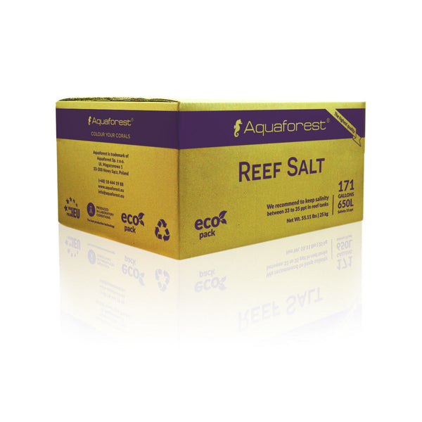 Aquaforest Reef Salt - Sustainable Marine Canada - Reef Aquarium Supplies Plus+