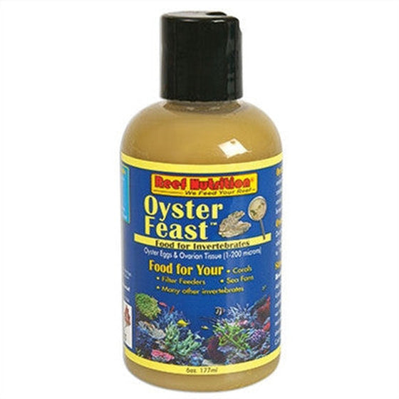 REEF NUTRITION OYSTER FEAST 6oz - Sustainable Marine Canada - Reef Aquarium Supplies Plus+