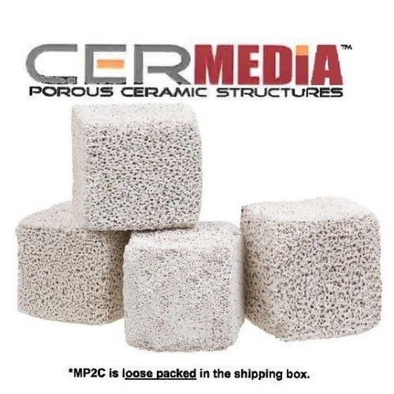 CerMedia MarinePure BioFilter Media MP2C 1/2 cubic foot