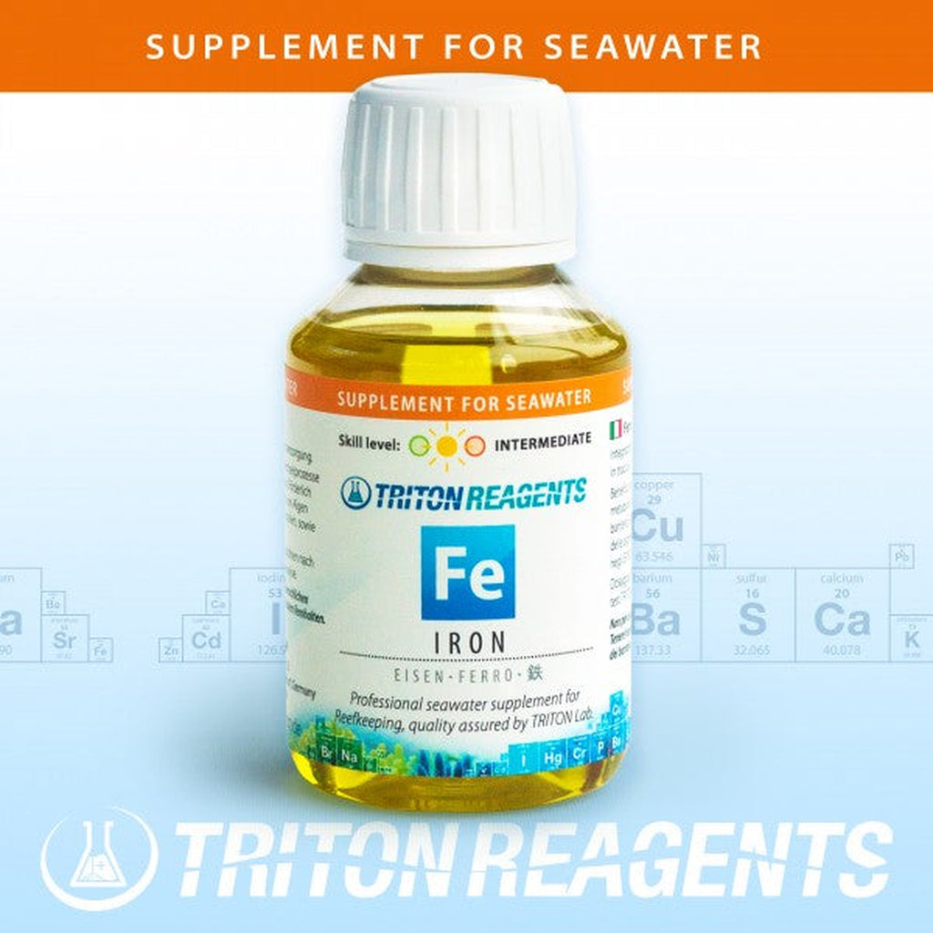 Triton Supplements Trace Elements - Iron 100ml - Sustainable Marine Canada - Reef Aquarium Supplies Plus+