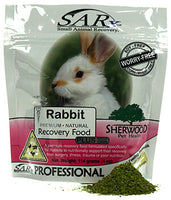 SARx Rabbit Recovery Food Plus  114g and 454g