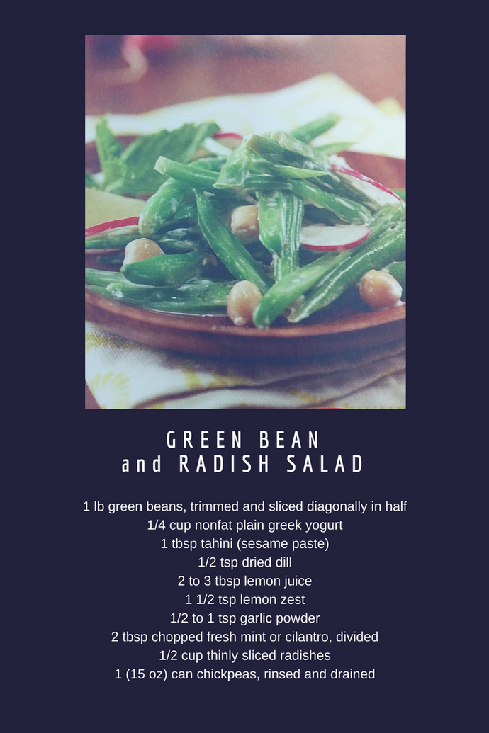 Green Bean and Radish Salad