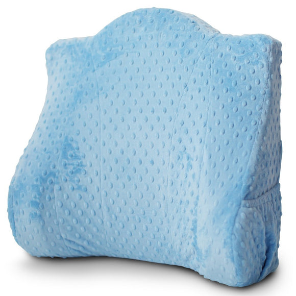 Back Buddy® Deluxe Support Pillow with Removable Slipcover - Bentley