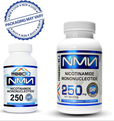 NMN 250MG Supplement - Nicotinamide Mononucleotide NAD+ Support (30 250MG CAPS)