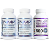 NMN Resveratrol NAD Booster Combo Pack  (2x Bottles of MAAC10 125mg NMN & 1 Bottle of 500mg Micronized Trans Resveratrol)