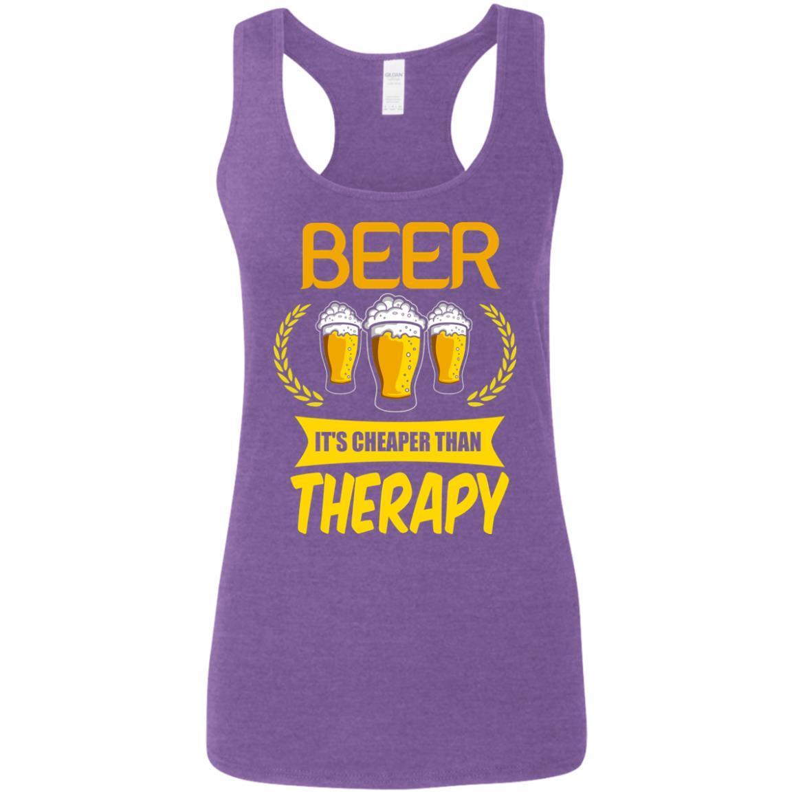 Beer It's Cheaper Than Therapy