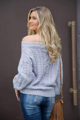 ⭐️⭐️⭐️⭐️⭐️Fluffy Ribbed Sweater Sweaters Hanlink