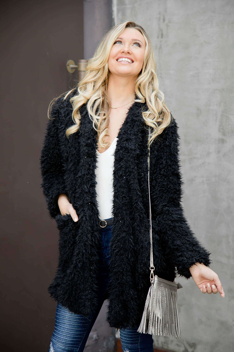 "(Pre-Order) ⭐⭐⭐⭐⭐""NEW"" Sasha Bohemian Faux Fur Coat Coats and Jackets Military Hippie"