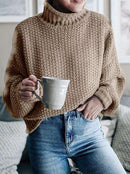 (Pre-Order) Penelope Thick Pullover Sweater Military Hippie