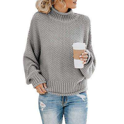 (Pre-Order) Penelope Thick Pullover Sweater Military Hippie S Gray