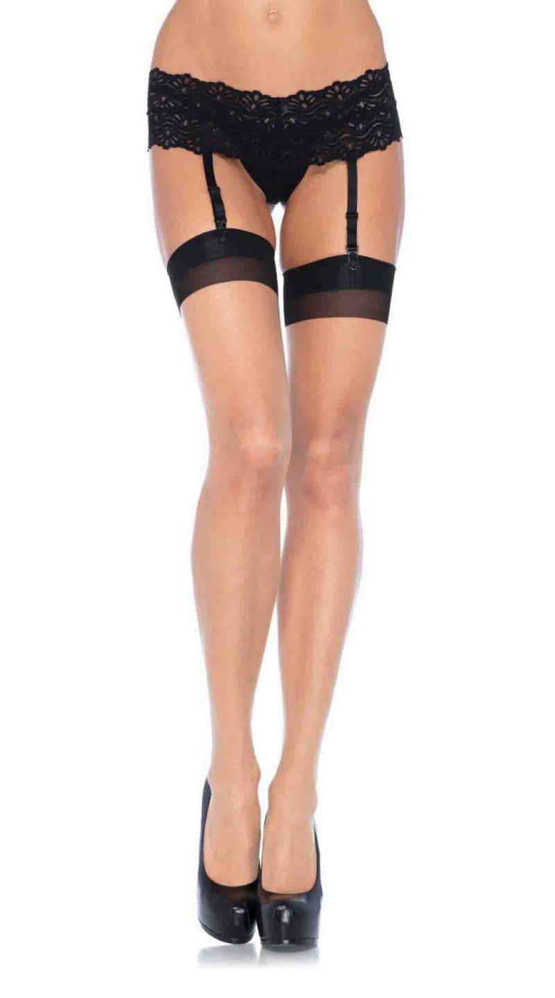 Contrast Backseam Stocking
