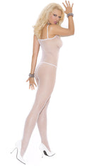 White Fishnet Body Stocking