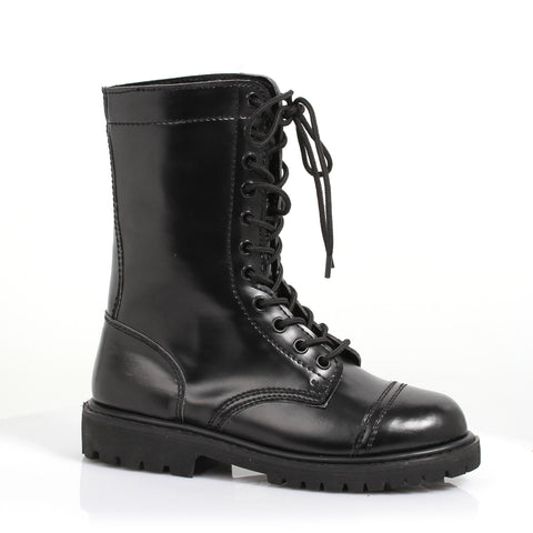 1 Inch Heel Ankle Women's Combat Boot with Laces