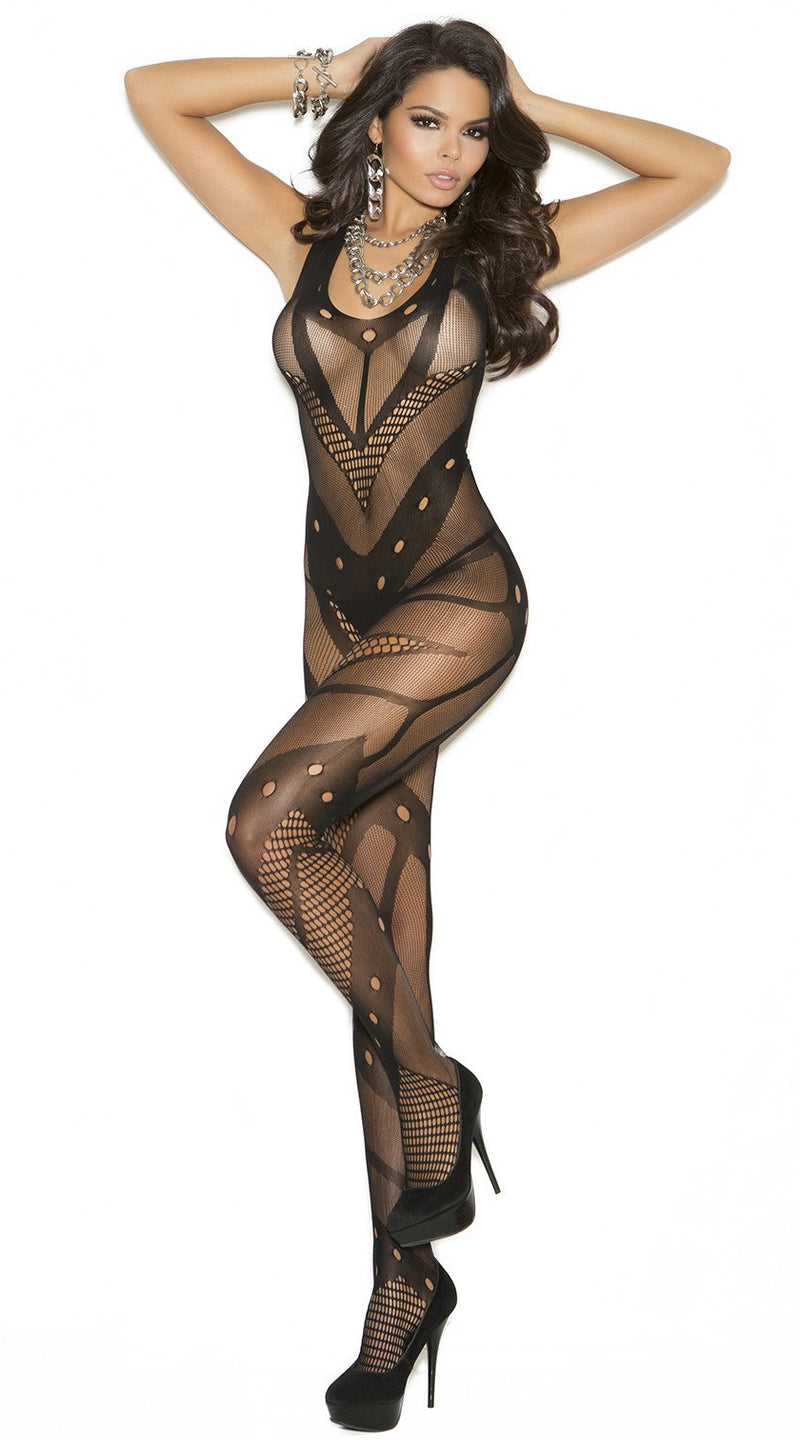 Crochet Net Bodystocking