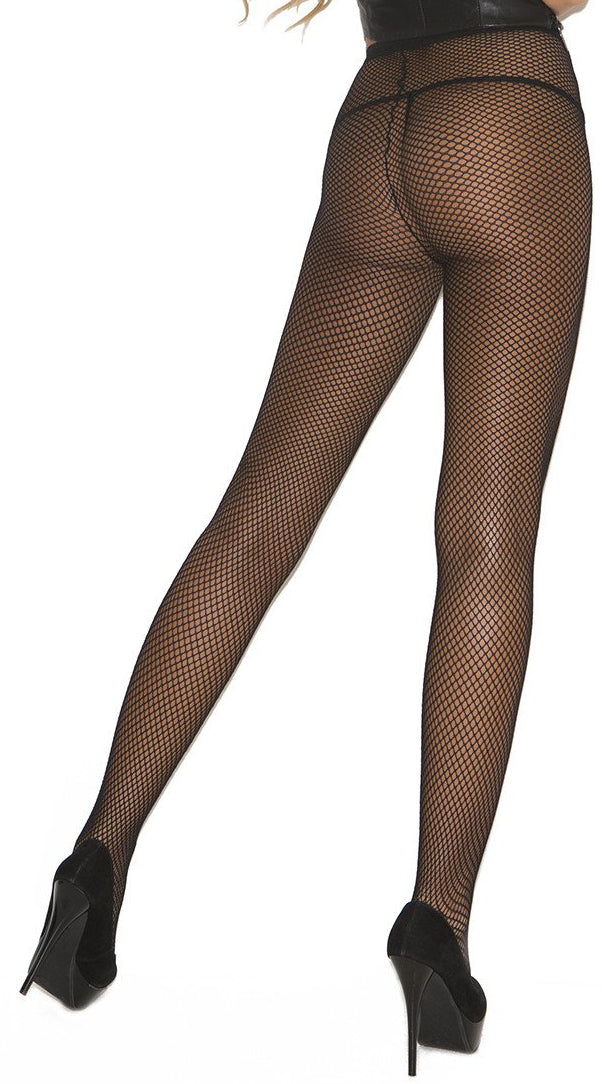 Black Fishnet Pantyhose - ElegantStripper