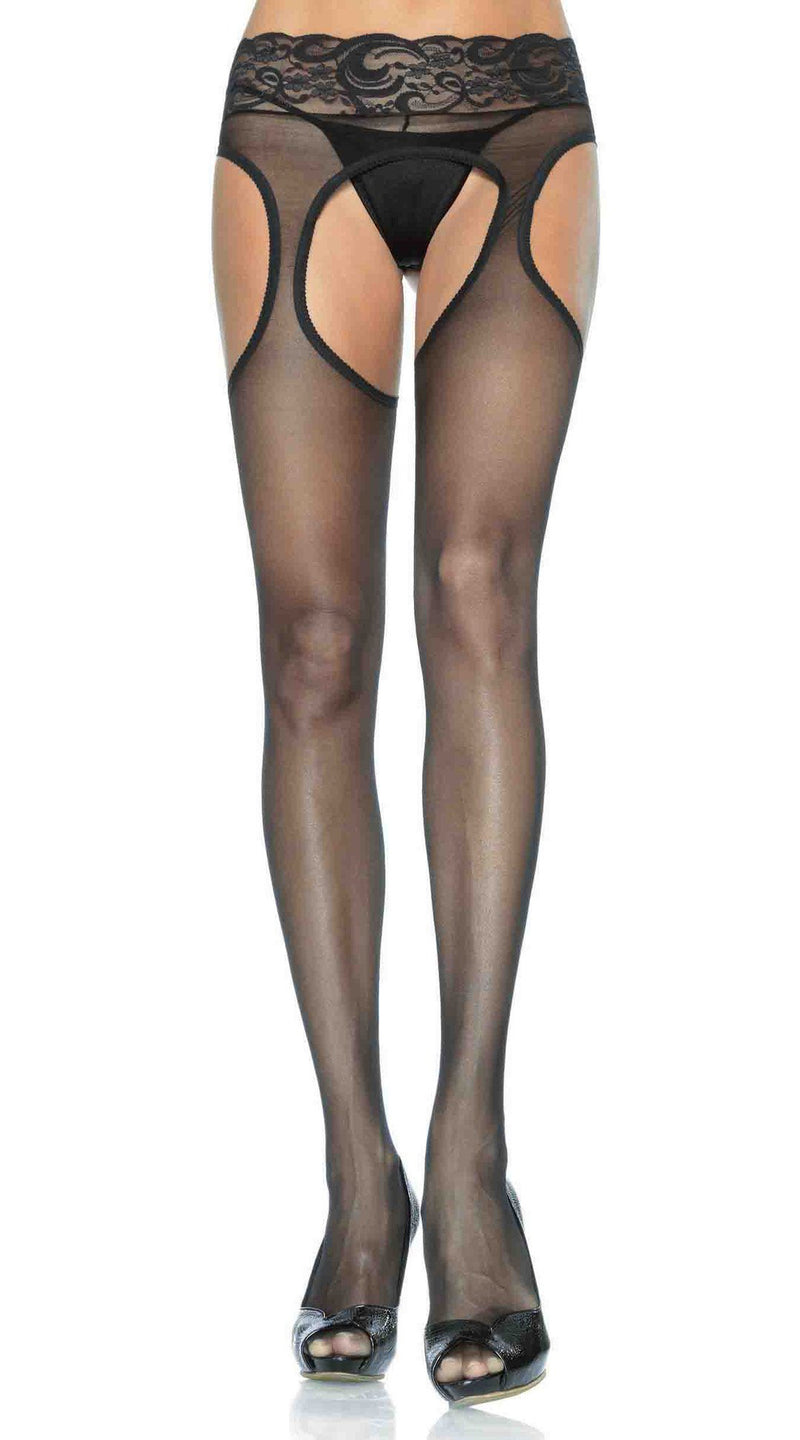 Sheer Garter Pantyhose