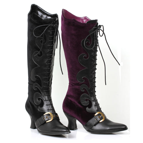 25 Inch Heel Boot with Lace
