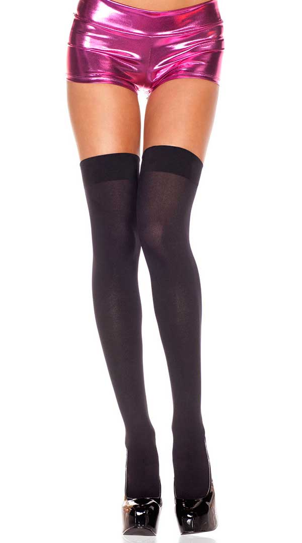 Opaque Thigh High