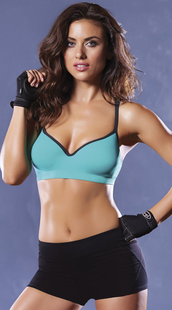 Strike Strappy Back Sports Bra