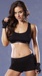 Strike Corsetry Back Microfiber Sports Bra