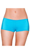 Turquoise Low Cut Full Covered Shorts