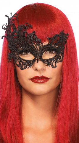 Fantasy Venetian Applique Eye Mask