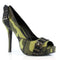 4 Inch Heel Open Toe Pump - ElegantStripper