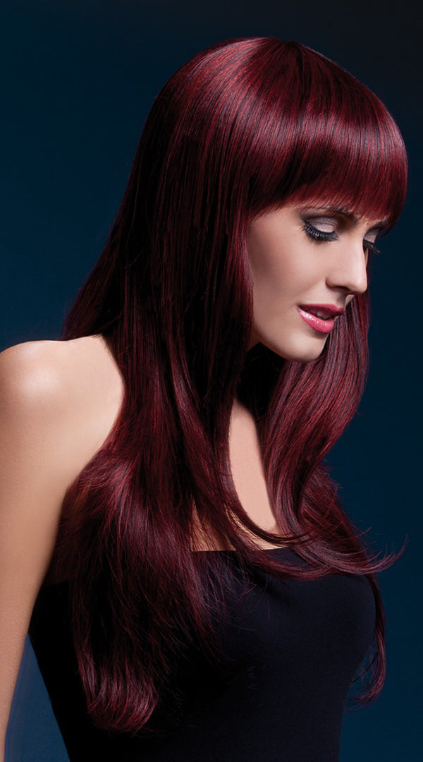 Sienna Wig Black Cherry