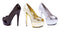 6 Inch Heel Open Toe Pump with 2 Inch Heel Platform - ElegantStripper