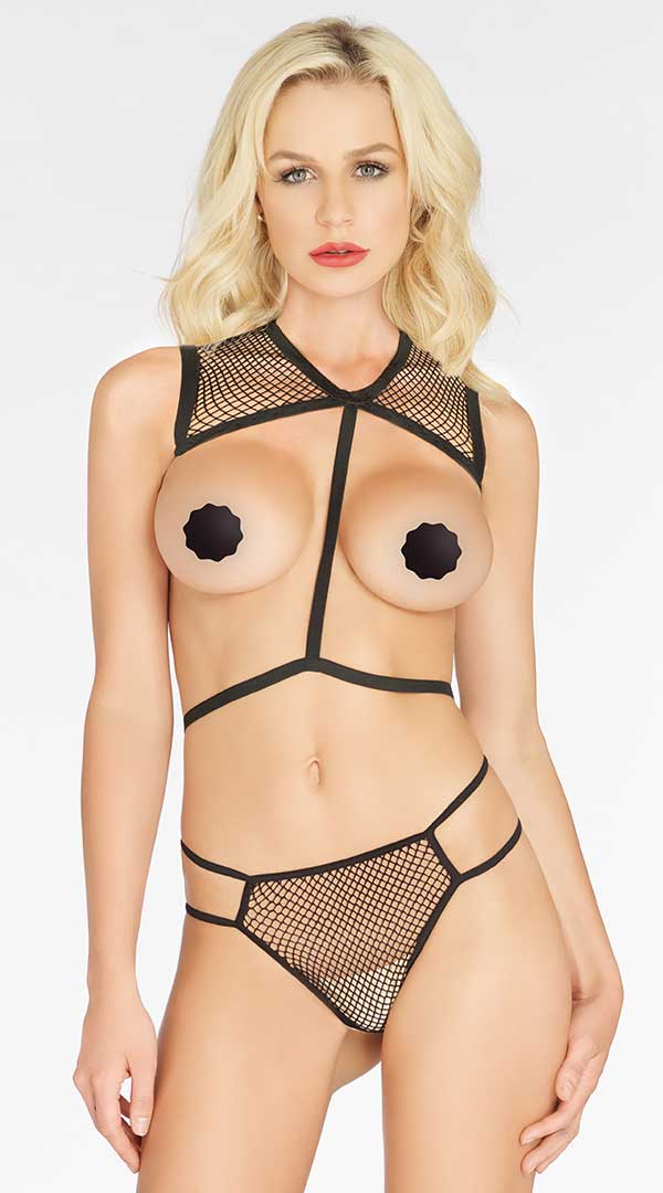 Two Piece Net Body Harness Set