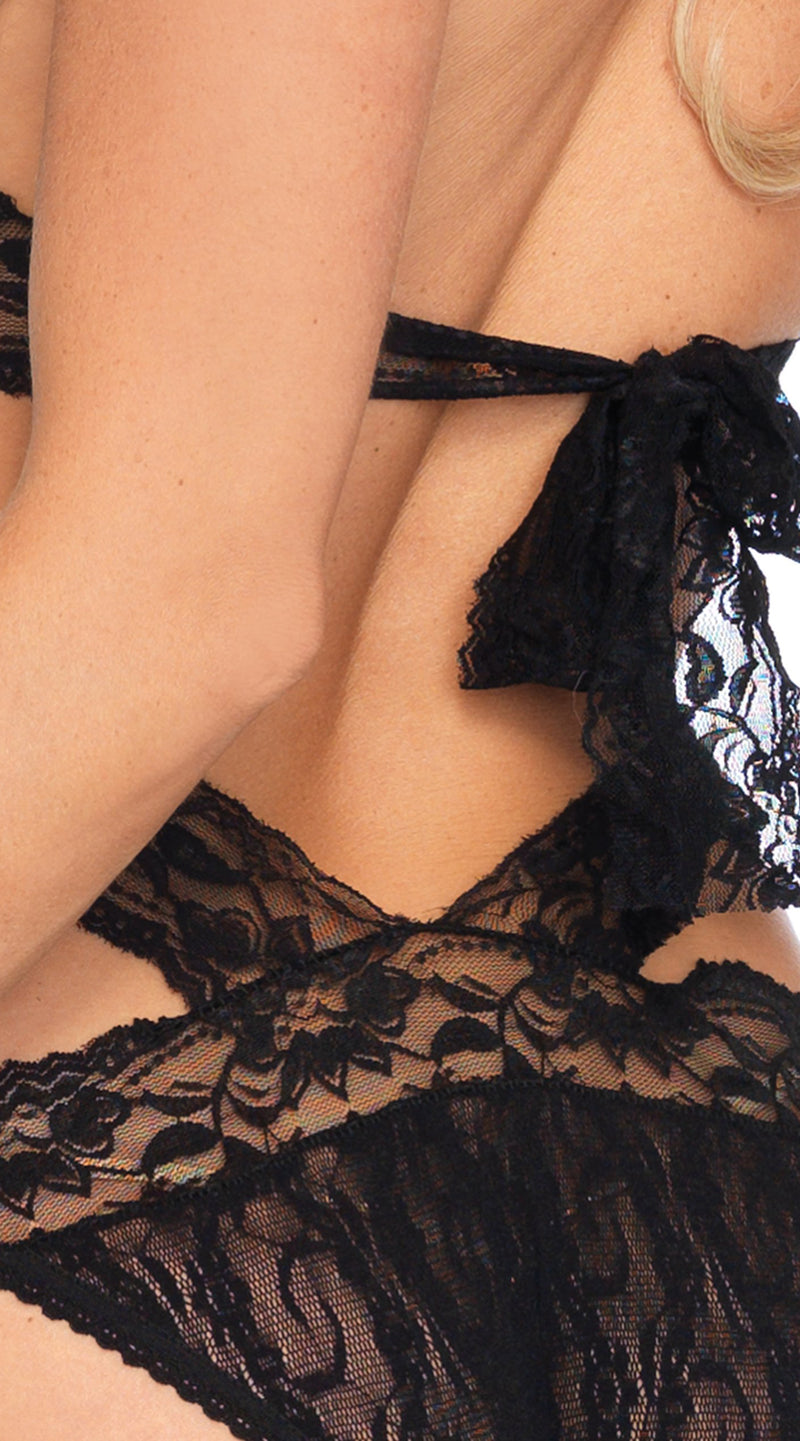 Lace Wrap Around Teddy