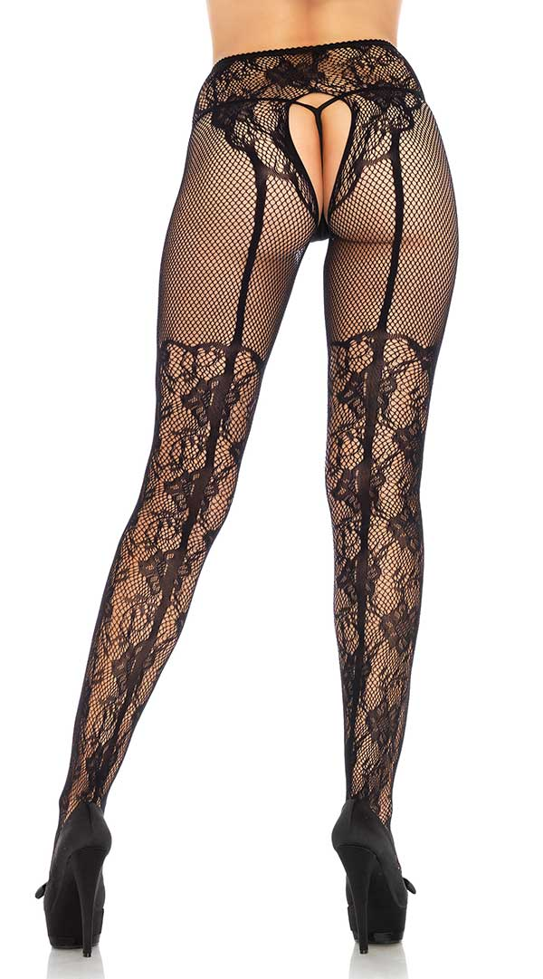 Fleur De Lace Illusion Tights