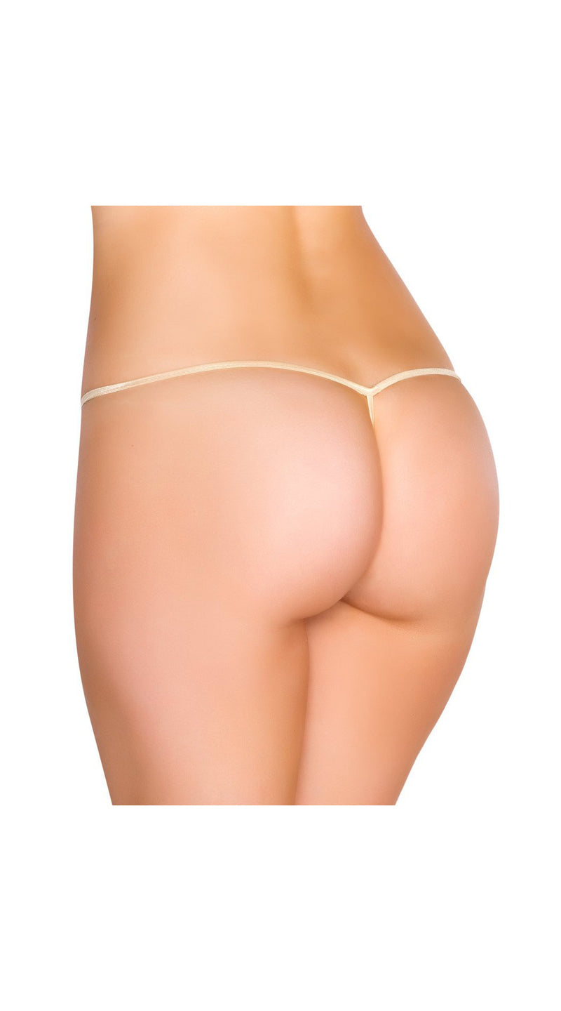 Nude Tear Drop G-String Bottom